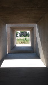 Donald Judd works in concrete